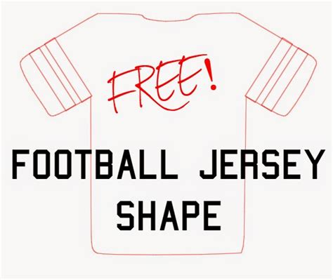 Football Jersey Cut Out Templates Joy Studio Design Gallery Best Design Football Jersey Template