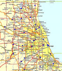 Maps Chicago by Online Maps Chicago City Map