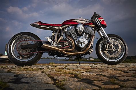 Indian Motorrad Custom by Thunderstruck Inside The Louis Engina Custom Indian Chief