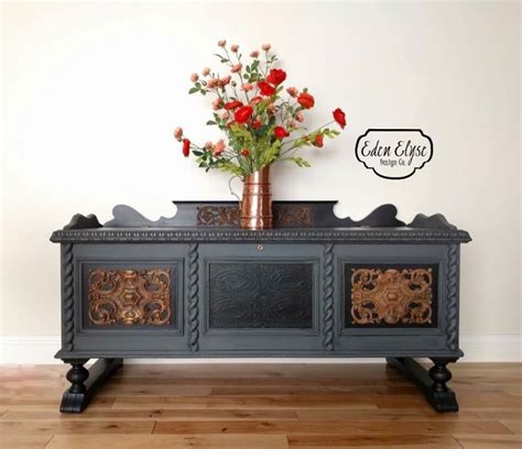 painted cedar chest general finishes design center