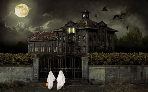 scary house wallpapers hd wallpapers