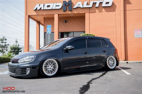 slammed volkswagen golf snap slammed vw golf gti mk6 on radi8 wheels