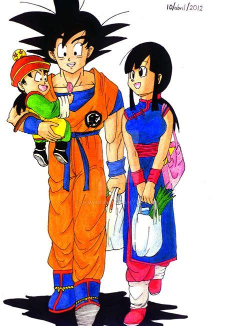 Imagenes De La Familia De Goku | goku y familia d by oomaioo on deviantart