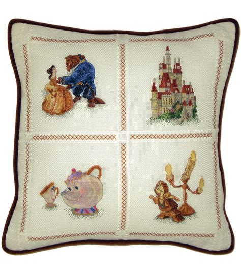 Counted Cross Stitch Pillow Kits by The Beast Pillow Counted Cross Stitch Kit 14 Quot X14