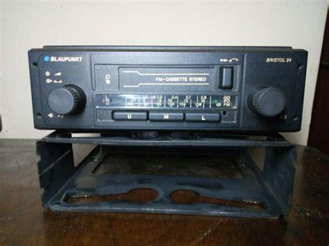 car radio cassette blaupunkt bristol 24 classic car radio cassette player