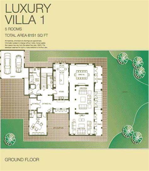 luxury villa floor plans the lakes luxury villa floor plans the lakes dubai uae