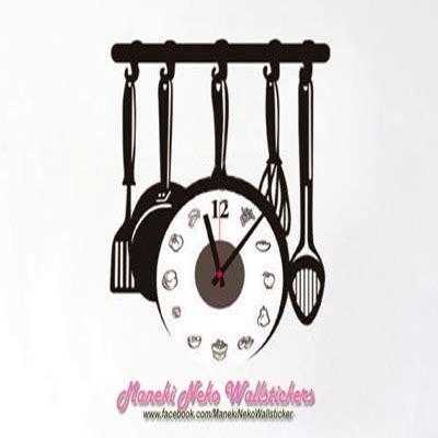 Baru Murah Layer Butterfly Wall Sticker Stiker Dinding jual clock wall sticker murah maneki neko wallstickers