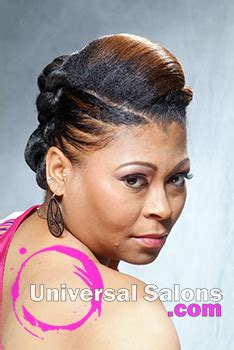 black updo hairstyles atlanta mohawk universal salons hairstyle and hair salon galleries
