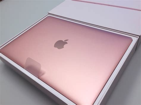 Apple Macbook Mmgm2 Rosegold rocket yard unboxes new gold 12 inch macbook other world computing