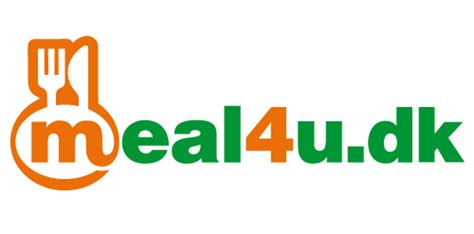 logo design dk meal4u dk logo logomoose