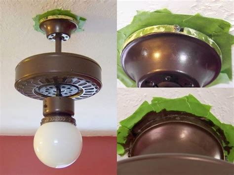 How To Paint A Ceiling Fan by 25 Best Ideas About Painting Light Fixtures On