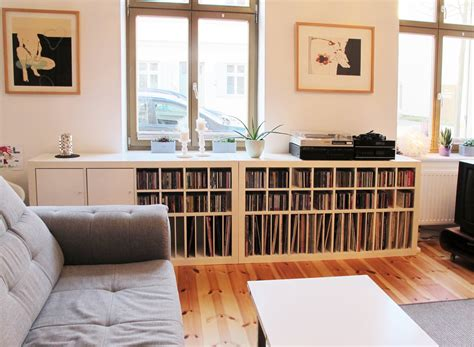 Vinyl Platten Regal by Expedit Regal Musik Fans Ausgestattet Mit