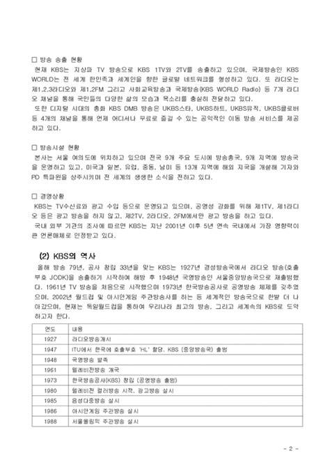 경영조직론 KBS의 조직분화(KBS와 IDB) - 경제경영
