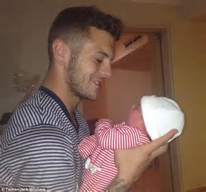 Jack Wilshere Baby | make way for the world cup wags daily mail online
