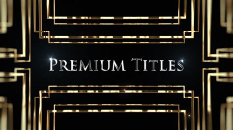 premium after effects templates premium titles special events after effects templates