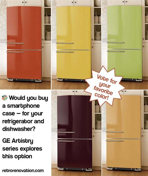 Kitchen Cabinet Skins by Would You Buy A Smartphone Case For Your Refrigerator