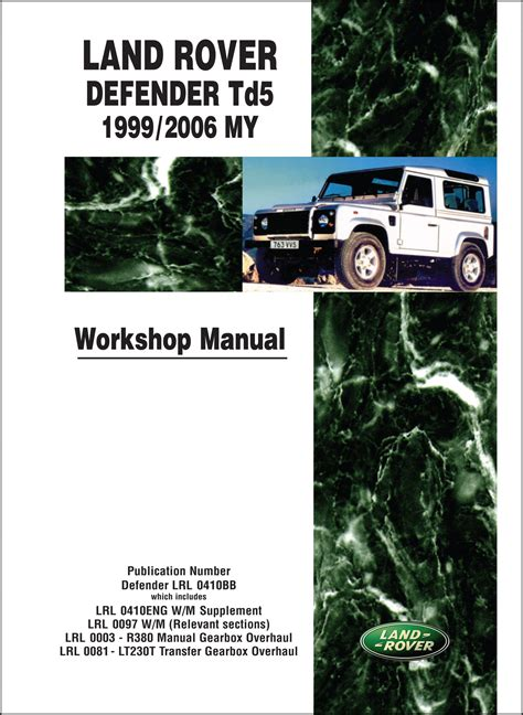 land rover discovery  td workshop manual