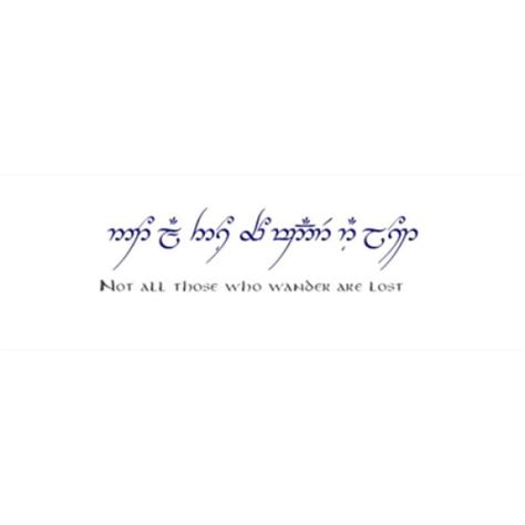 tattoo quotes lord of the rings elvish tattoo quotes lord of the rings