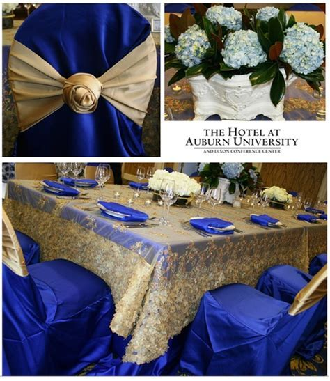 gold and royal blue wedding   Google Search   Dinner party