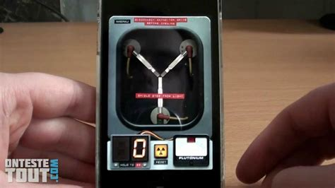 flux capacitor iphone lunaris2142 teste flux capacitor sur iphone