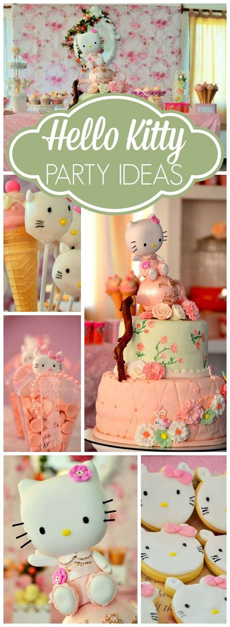 hello kitty themes party 253 best hello kitty party ideas images on pinterest