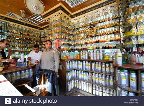 Parfum Shop cairo a perfume shop at the khan el kalili bazaar in islamic stock photo royalty free