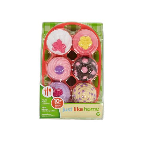just like home mix n match 6 pack cupcakes toys quot r quot us