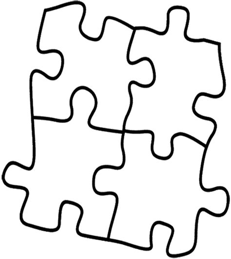 puzzle coloring pages 9