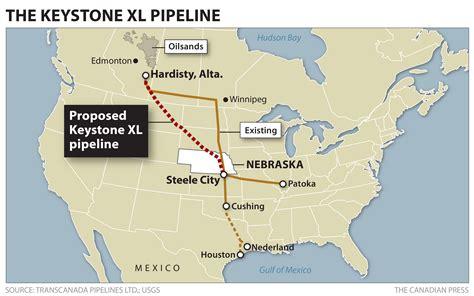 keystone pipeline map new report raises no major objections to keystone xl pipeline globalnews ca