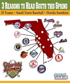 baseball florida map 3 reasons to to florida for grapefruit league