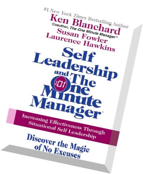 Book Report In One Minute Manager by Self Leadership And The One Minute Manager