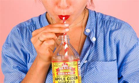 apple cider vinegar  natural teeth whitener