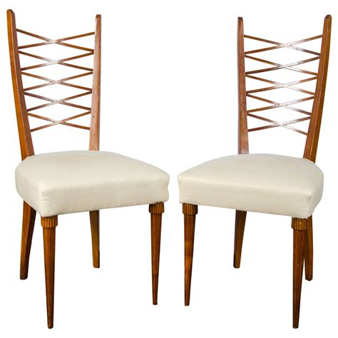 Pier 1 Dining Room Chairs Set Of Six Dining Chairs By Pier Luigi Colli For Sale At 1stdibs