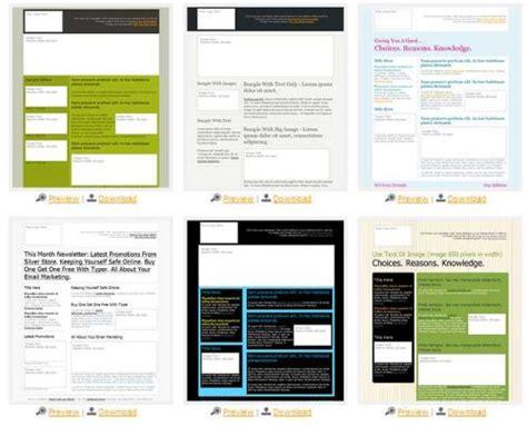 Html Template Vorlagen Kostenlos Kostenlose Newsletter Html Templates