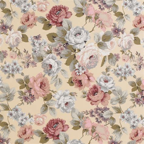 floral upholstery canvas cotton upholstery curtain fabric vintage floral ebay