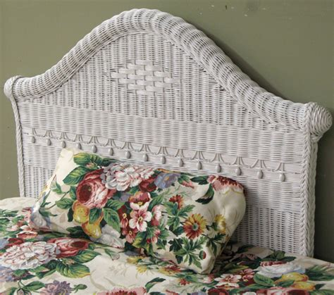 wicker headboard twin victorian twin wicker headboard wicker paradise