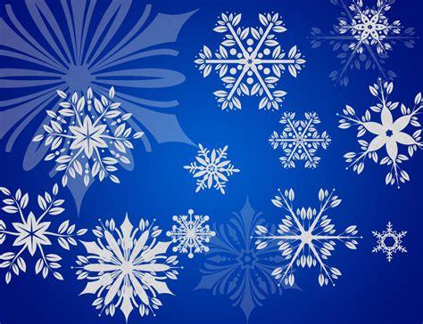 snow pattern brush snowflakes brushes set brushes fbrushes