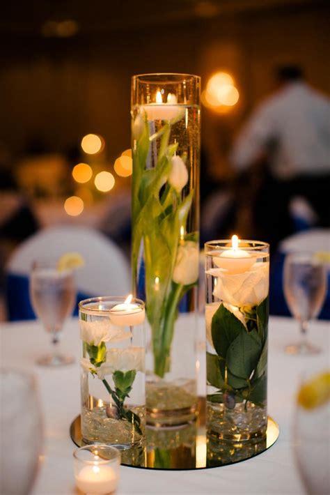 10 submerged flower wedding centerpieces 19323