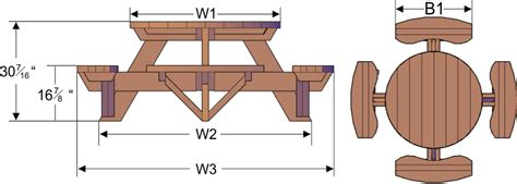 picnic table bench height download round picnic table plans free pdf roubo workbench