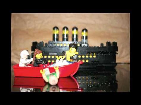 film titanic lego the funny lego titanic movie youtube