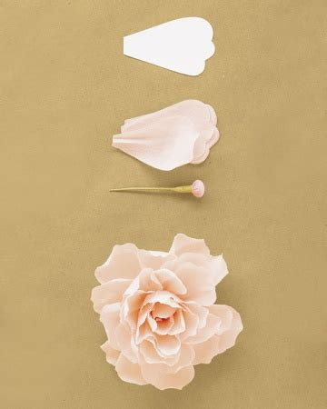 how to make crepe paper flowers martha stewart