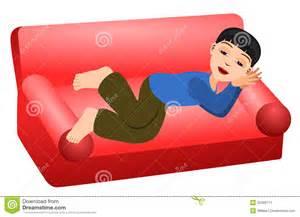 sofa schlafen schlaf in der stockbild bild 22406711
