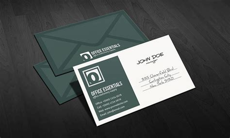 unique postcard inspired business card template 187 free