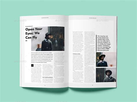 template magazine cofune magazine 40 pages indesign template by danibernd