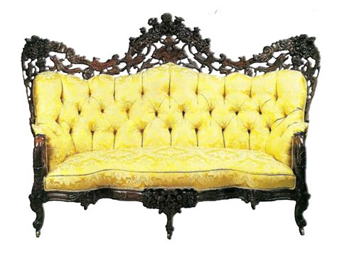 yellow settee yellow antique sofa by jinifur on deviantart
