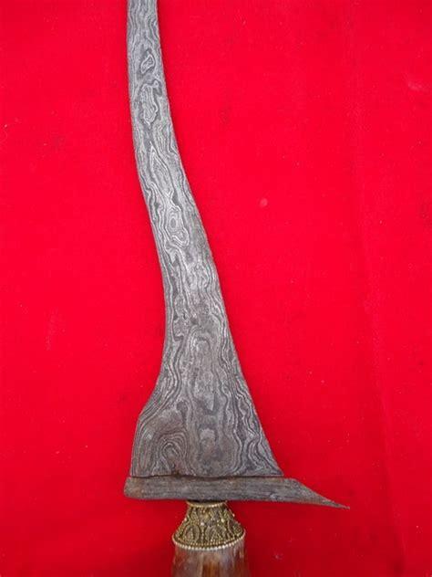 Keris Kamardikan Dapur Mesem keris jangkung asli kuno mahar murah keris semar mesem