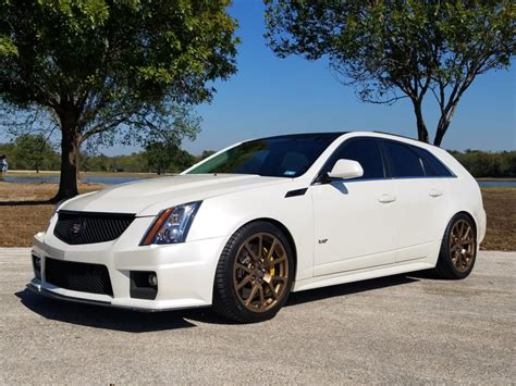 Cadillac Ctsv Wagon For Sale by 2012 Cadillac Cts V Wagon For Sale On Bat Auctions Sold