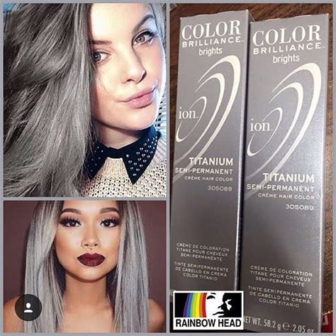 titanium ion color mulpix ion color brilliance titanium available at