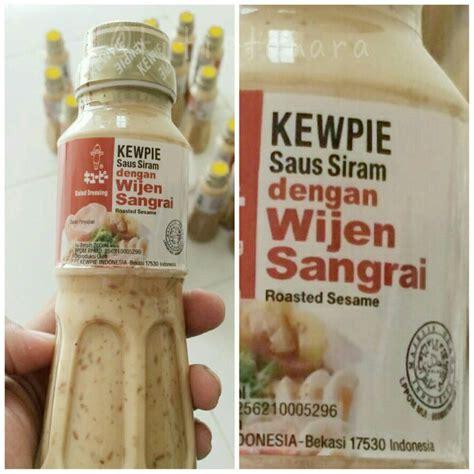 Kewpie Roasted Sesame Salad Dressing Wijen Sangrai Halal jual salad dressing kewpie roasted sesame size 220 ml titiptamara