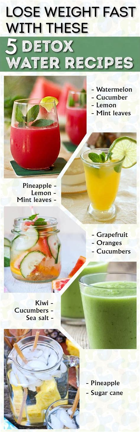 Grapefruit Detox For Weight Loss by Lose Weight Fast With These 5 Detox Water Recipes Sports